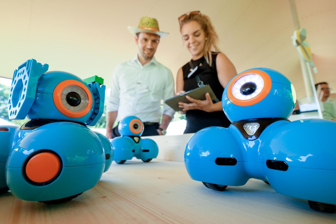 Spielerisch Programmieren mit dem Roboter Dash!